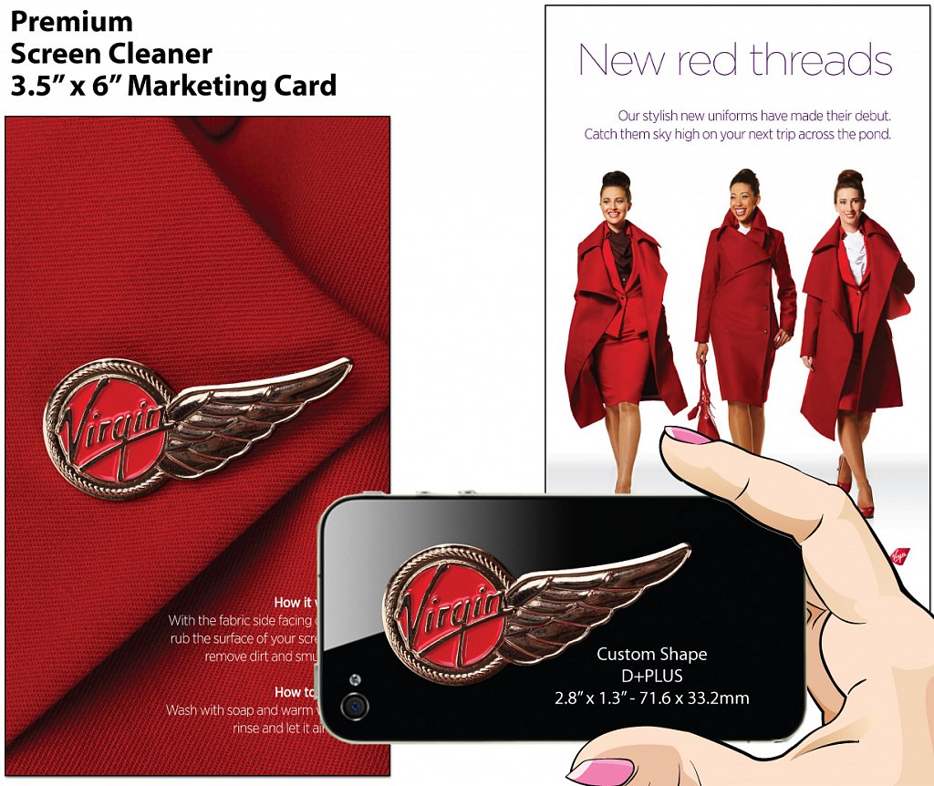 Virgin Airlines Pin